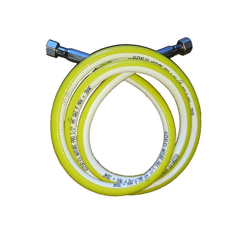 """2NB15150-Tuyau flexible gaz TUBOGAZ Ø 1/2""""FF 1500 mm"""