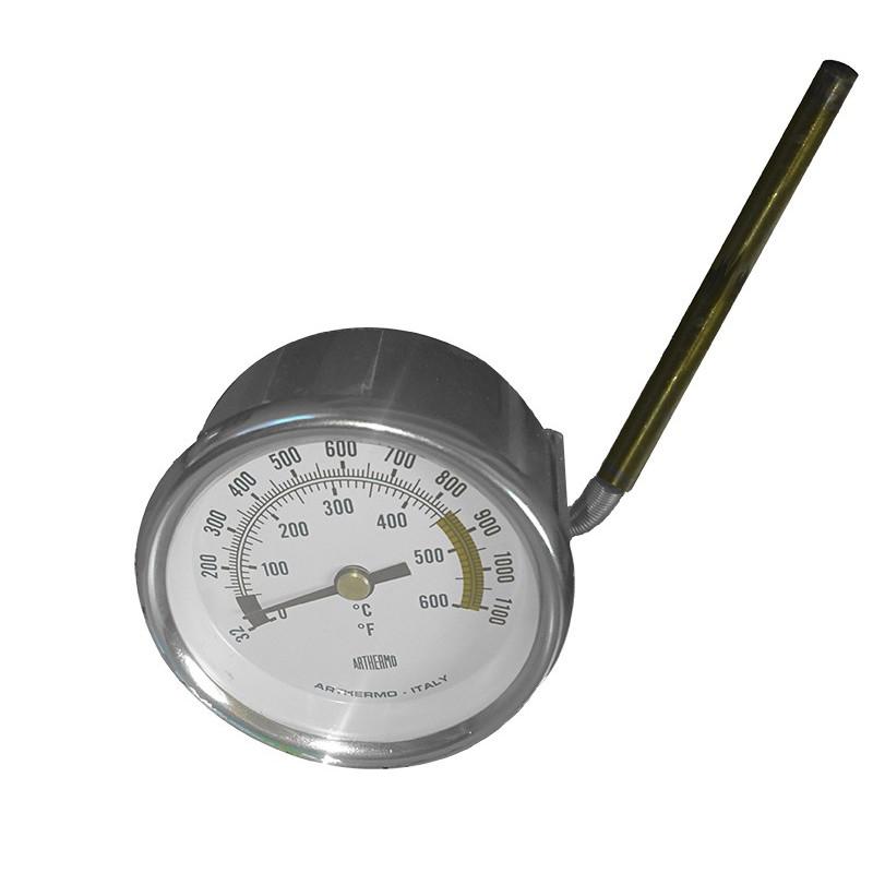 86501001-Thermometre blanc ø 60 mm 0-600°c