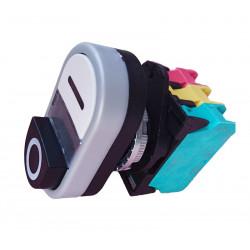 60959-Interrupteur O-I blanc/noir 16A 240V