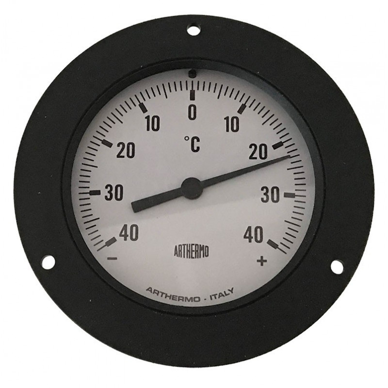 F87R100-Thermomètre ø 100 mm -40°/+40°C